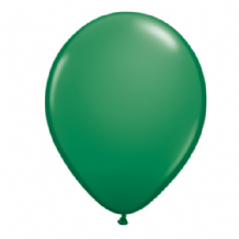 "Qualatex 9 inch Balloons - Green 9"" Balloons (Standard 100pcs)"